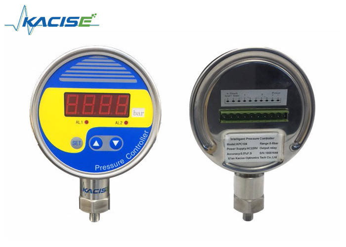 Intelligent Digital Pressure Controller , High Accuracy Precision Pressure Gauge